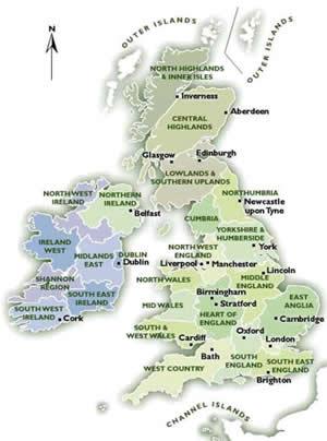 Il Regno Unito Viaggi In Inghilterra Scozia Galles E